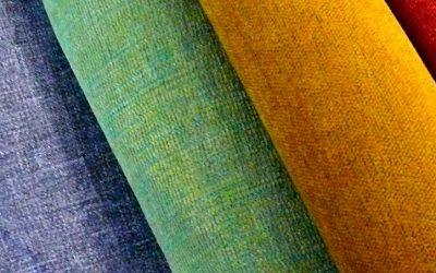 Listado de telas para tapizar